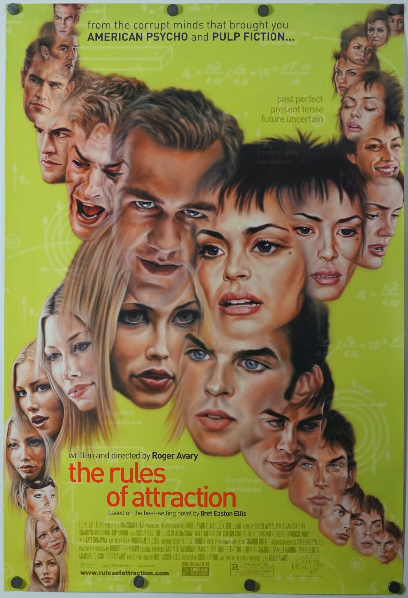 Details about Rules of Attraction - original movie poster - 27x40