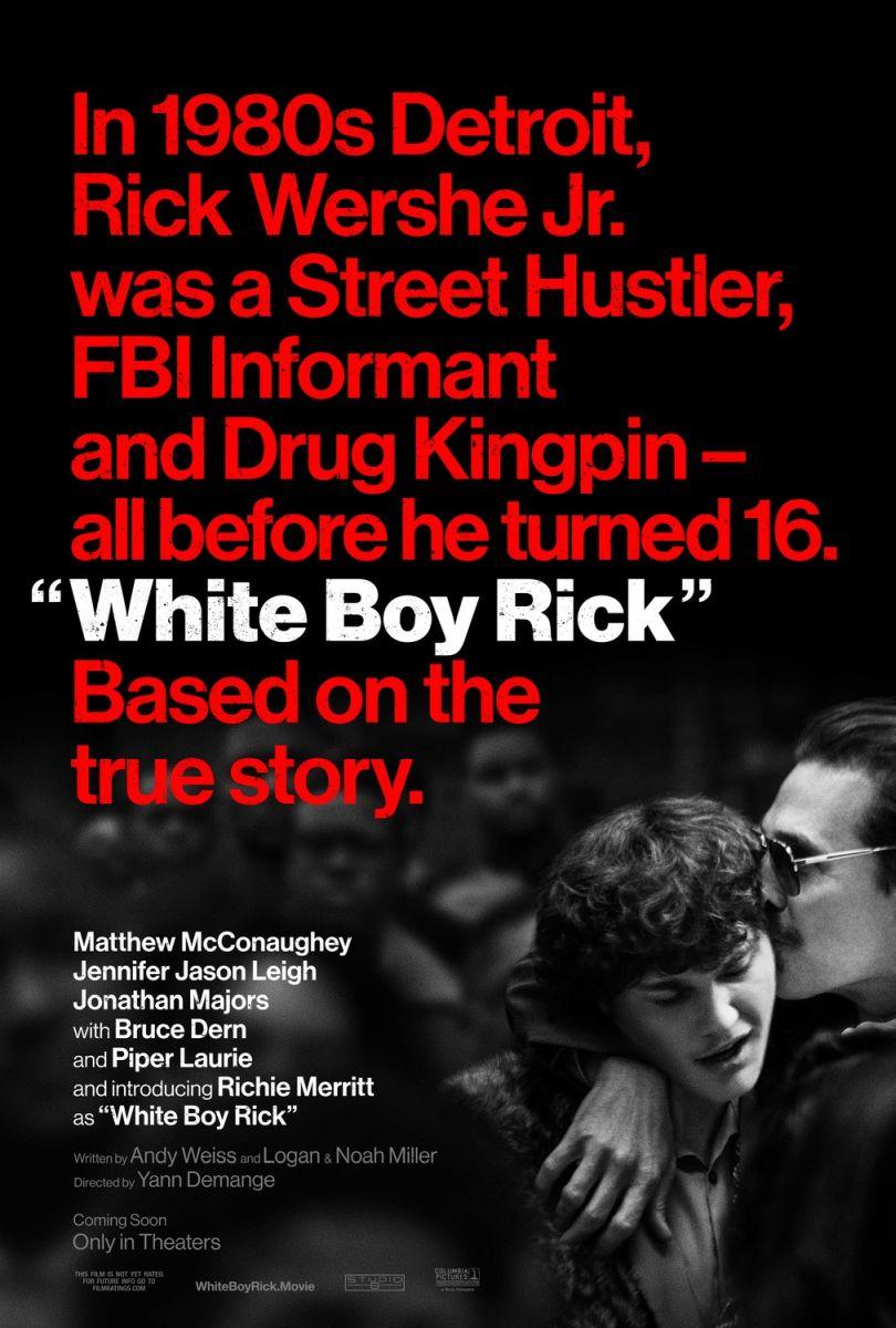 original DS movie poster 27x40 D//S MATTHEW MCCONAUGHEY White Boy Rick